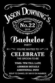 Bachelor Party Invitation Template - Oxyline #366Fee4Fbe37