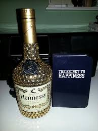 Decorative Liquor Bottles Decorated Hennessy Bottle Endearing Bedazzled Hennessy Liquor 28