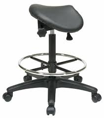 saddle office chair. Work Smart Adjustable Saddle Seat Backless Drafting Stool [ST205] Office Chair F