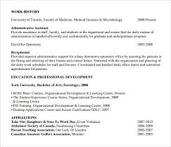 Reception Resume Sample Receptionist Resume 9 Download Free Documents In