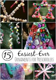 15 Easy gorgeous Christmas Ornaments for Toddlers and Preschoolers