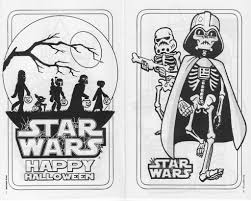 Star Wars Halloween Play Pack - Coloring Pages | Dex | Flickr