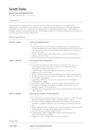 Vice President Resume Samples President Resume Samples Templates Visualcv