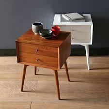 mid century modern nightstand overawe mid century modern nightstand with brown and white color mid century modern