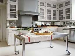 stainless steel kitchen island with seating luxury kitchen stainless steel island table with regard to decorations
