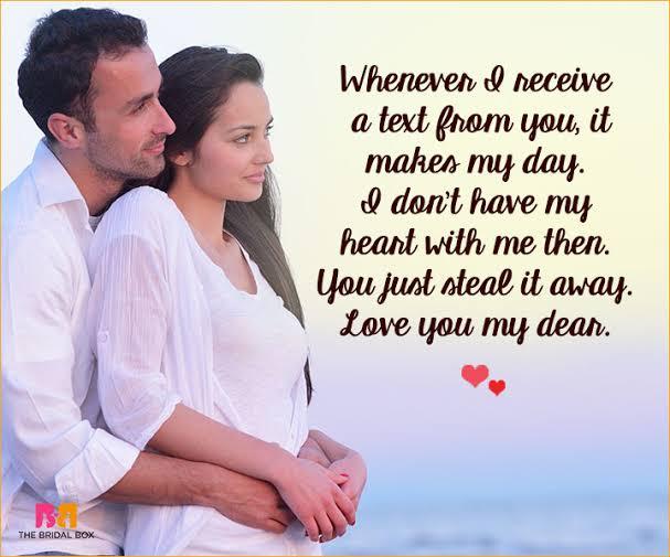 sms romantic