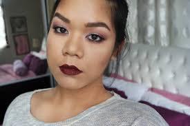 vy makeup matte eyes dark lips tutorial msia basic makeup tutorial