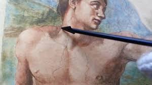 michelangelo the creation of man with adam eve the serpent part 44 of 60