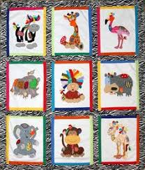 Silly Goose Quilts: another one of those quilts | Applique ... & Jungle Patches | The Craft Cubby & Creative Applique Adamdwight.com