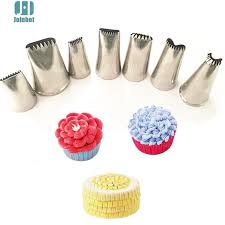 Cake Decorating Accessories Wholesale Aliexpress Buy Baking Tools 100 Pcs Sawtooth Nozzles Creative 71