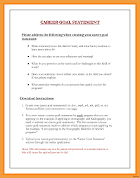 Example Of Career Aspiration 9 Professional Goals Statement Examples Irpens Co
