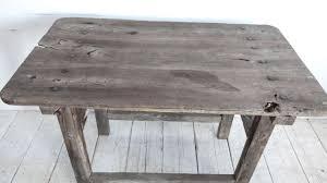 Grey Wash Wood Stain Rustic Grey Wash Bar Table At 1stdibs