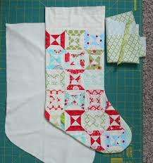 Quilted Christmas Stocking Pattern Gorgeous Stocking Tutorial Cluck Cluck Sew