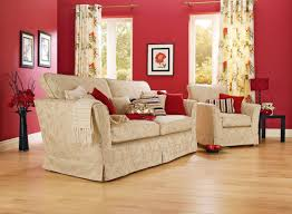 Red Wall Living Room Decorating Living Room Apartments Cozy Living Room Design With Sofa And