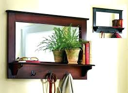 mirror with shelf wall mirrors with shelves entryway wall shelf wall mirrors entry wall mirror with