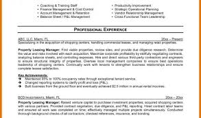 Easy Resume Example And Ideas Leasing Agent Resume Example Easy