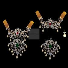 diamond necklace set nk0332er2510 broad