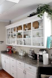 Ana White Kitchen Cabinet Kitchen Wall Shelving With White Cabinet And Backsplashjpg
