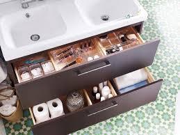 crafty ideas bathroom drawer organizer creative decoration ikea home design