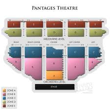 Pantages Theatre Ca Concert Tickets And Seating View