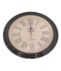 das santos london wall clock