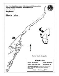 Calabogie Lake Depth Chart Black Lake Nys Dept Of Environmental Conservation