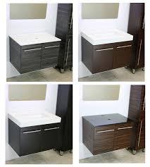 windbay 24 floating wall mount vanity sink set