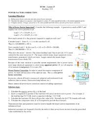 symbols captivating power factor correction electrical equipment define improvement and its significance in ac circuit
