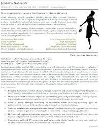 Garment Merchandiser Resume Fashion Merchandising Resume Samples Examples Visual Sample Download