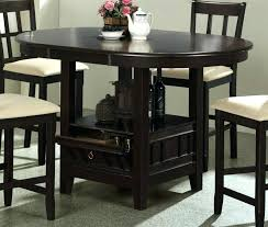 bar height table and chairs brilliant pub 5 piece round counter set in dark cherry