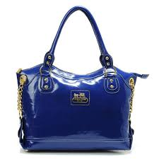 Coach Legacy Pinnacle Lowell Large Blue Satchels ADQ Give You The Best  feeling!