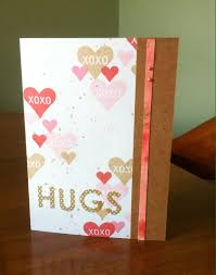 Hugs And Hearts Card Home Work From Online Card Classes Stretch