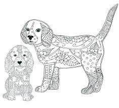 Printable Colouring Pages Of Puppies Cute Puppies Coloring Pages To