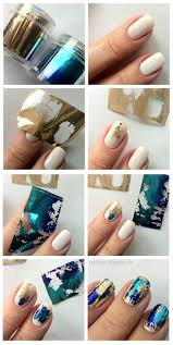 How To Do Foil Paper Nail Art - Emaggy