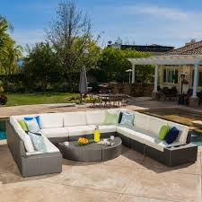 christopher knight home puerta grey outdoor wicker sofa set. Conversation Sets. Santa CruzDining SetsWicker SofaChristopher KnightOutdoor Christopher Knight Home Puerta Grey Outdoor Wicker Sofa Set W
