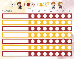 Free Printable Chore Charts For Kids The Cottage Market