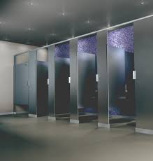 bathroom partitions suppliers manufacturers scranton products hiny hider toilet partition shown in stainless steel