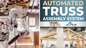 Alpine Engineering And Design Inc Alpine House Of Design Automated Truss Assembly System