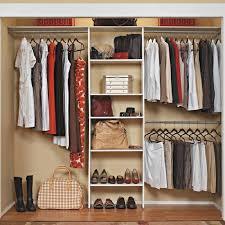wall mounted wood custom 7 10 ft closet