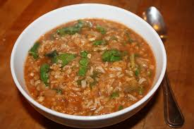 Our And Day Brown Vegan Italian Flavored Lentil Red Soup Epicurean Rice