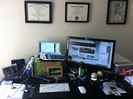 stylish office desk setup. Amazing Of Programmer Desk Setup Great Office Furniture Plans With Ars Staffers Exposed Our Home Stylish C