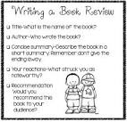 write a book review of any book