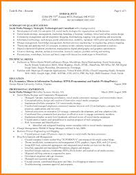 13 Qualifications Summary Resume Apgar Score Chart