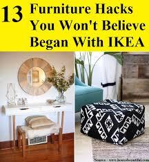 furniture hacks. 13 Furniture Hacks You Won\u0027t Believe Began With IKEA