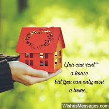 New Home Quotes Magnificent New Home Wishes And Messages Congratulations For Buying A New House