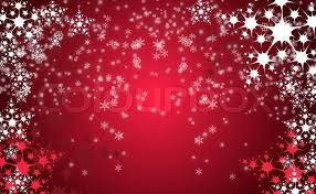 red snow christmas background. Simple Snow Red Christmas Background With White Snow Flakes  Stock Photo Colourbox On Snow Christmas Background D