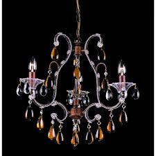 versailles 3 light classic crystal chandelier co03339 3