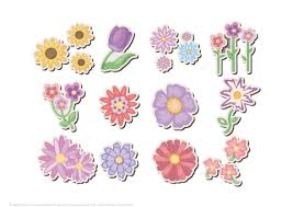 flower printable pictures. Modren Flower Printable Flower Stickers In Pictures