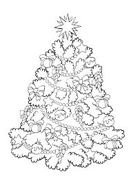 Kleurplaten Kerstboom Kleurplaat 38 Mooie Kleurplaten Kerstboom