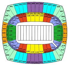 Chiefs Seating Chart With Rows Nfl Stadium Seating Charts Stadiums Of Pro Football